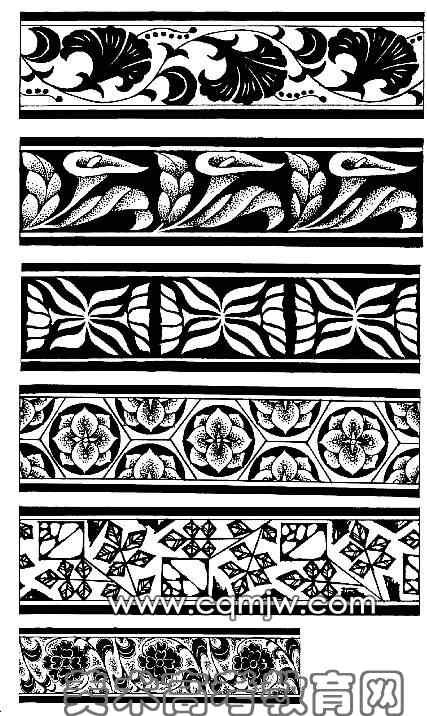 原始彩陶纹样图案内容原始彩陶纹样图案版面设计